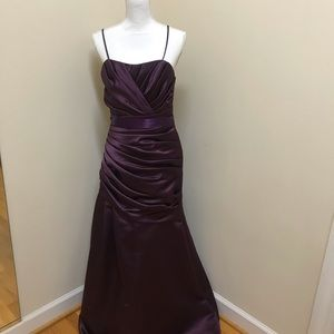 Plum dress by WToo for Watters style 161